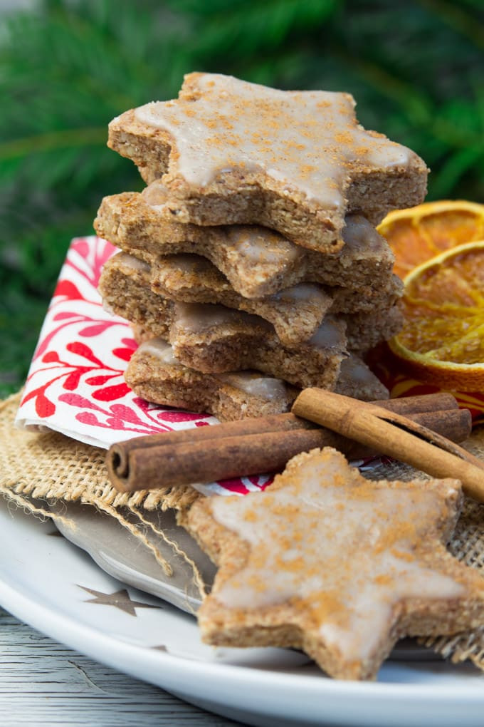 Cinnamon Christmas Cookies  All the Vegan Holiday Cookies