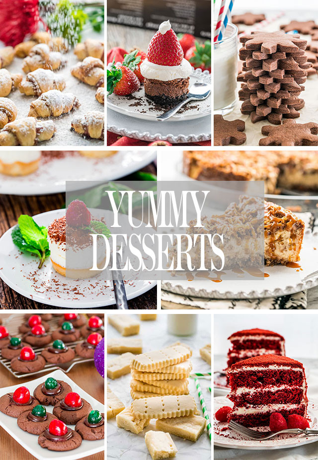 Classic Christmas Desserts  Easy Whole Day Christmas Menu Jo Cooks
