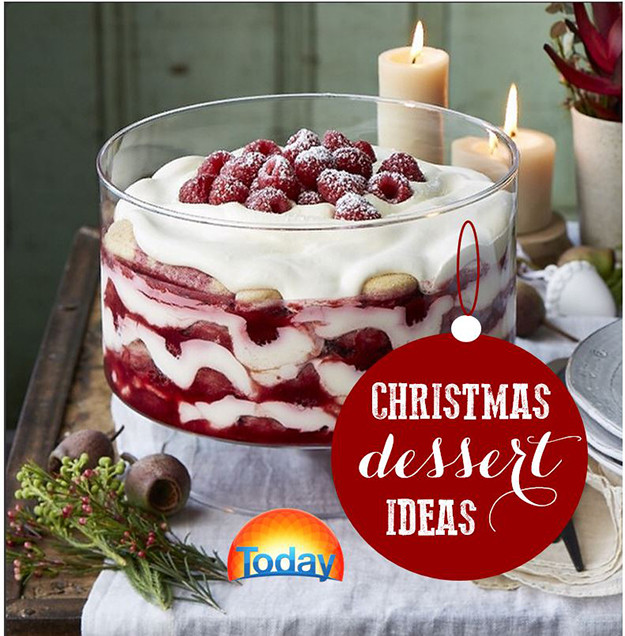 Classic Christmas Desserts  dessert table
