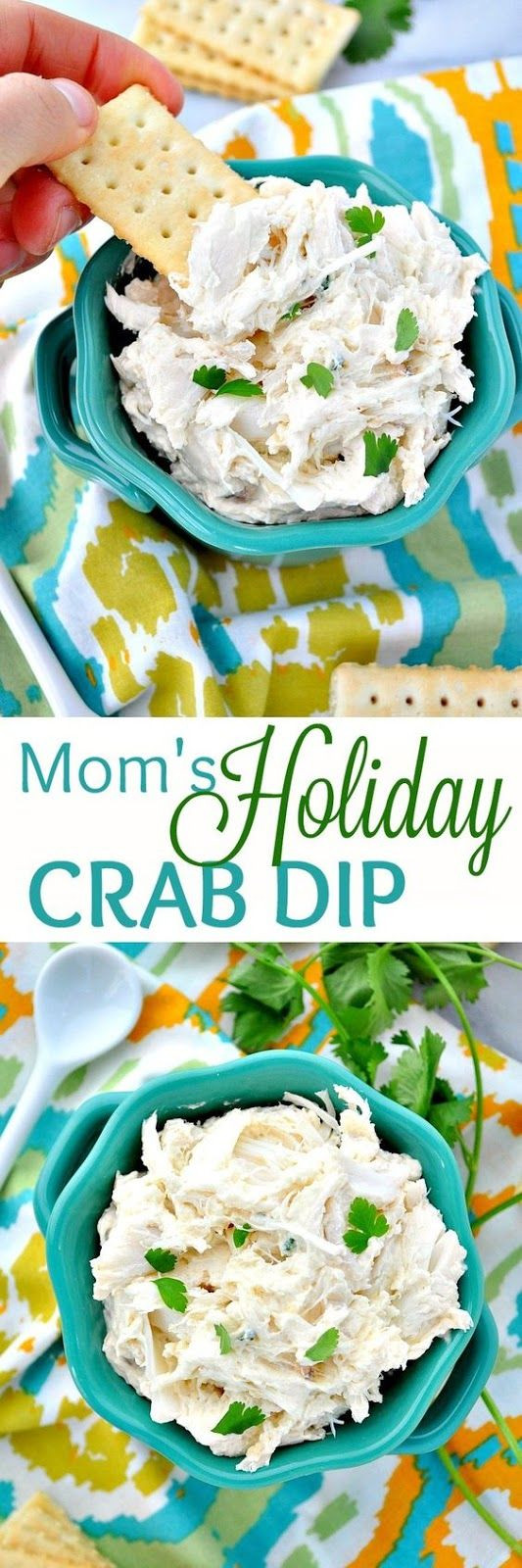 Cold Christmas Appetizers  Mom's Holiday Crab Dip Recipe Dips