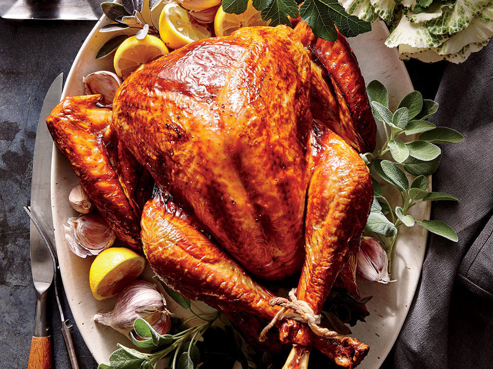 Cooked Turkey For Thanksgiving  Tuscan Turkey Recipe Cooking Light