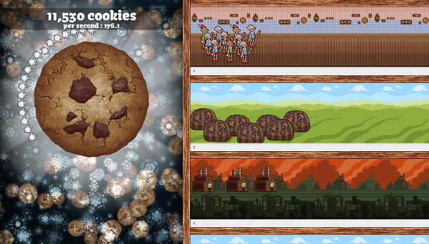 Cookie Clicker Christmas Cookies  Cookie er s Christmas update adds festive cheer test