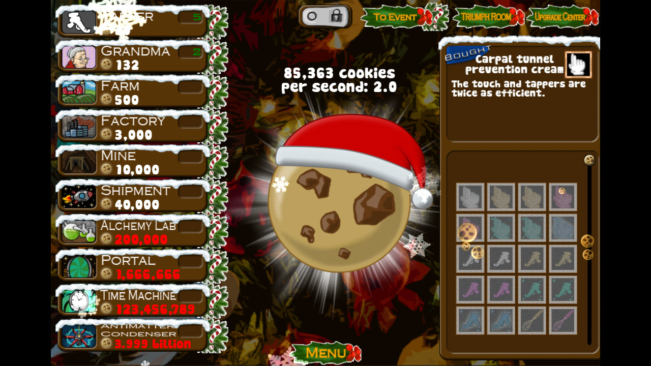 Cookie Clicker Christmas Cookies  Cookie er Android Apps on Google Play