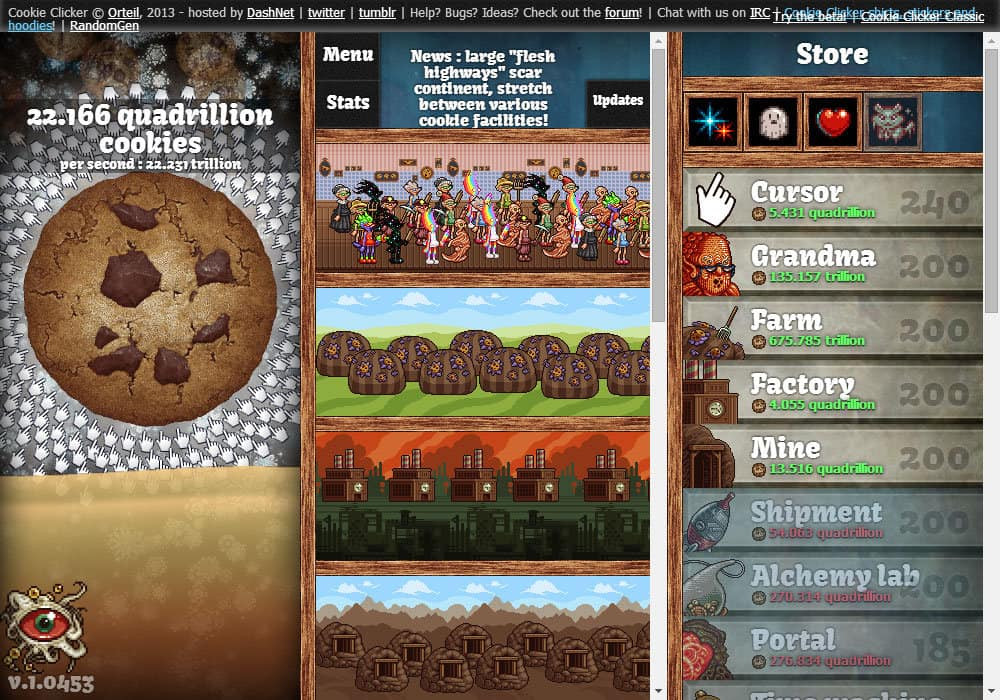 Cookie Clicker Christmas Cookies  Cookie er game Funny Games