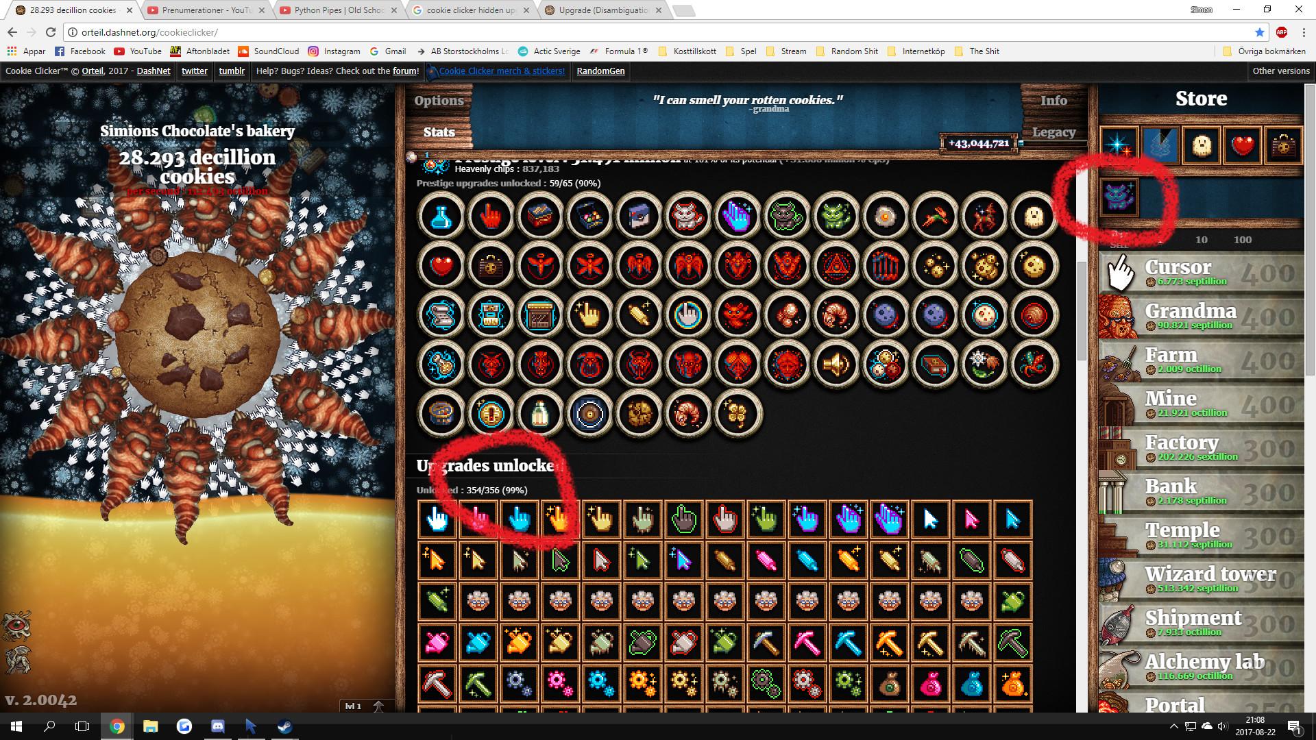 Cookie Clicker Halloween Cookies  Zzlim u Zzlim Reddit