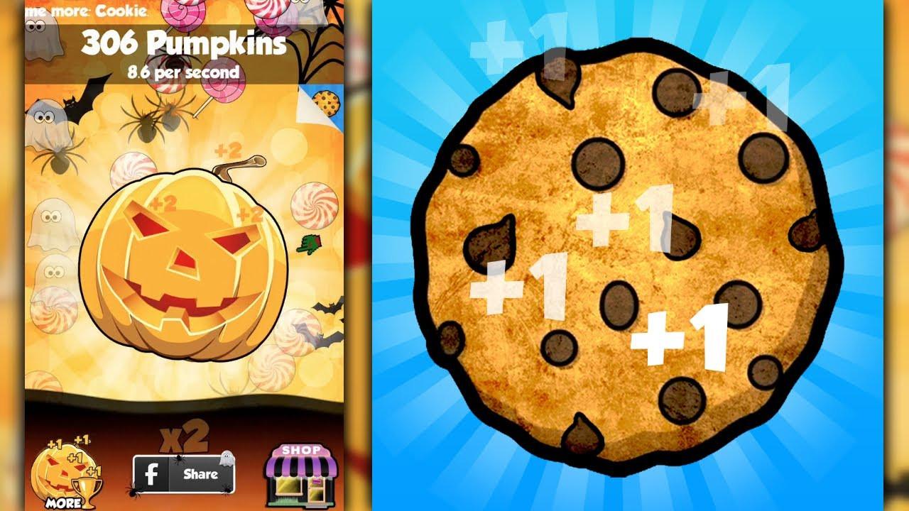 Cookie Clicker Halloween Cookies  COOKIE CLICKERS HALLOWEEN EDITION iPhone Gameplay