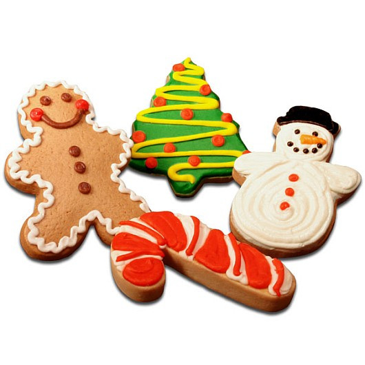Cookies Christmas Party  Christmas Party Favors Christmas Sugar Cookies