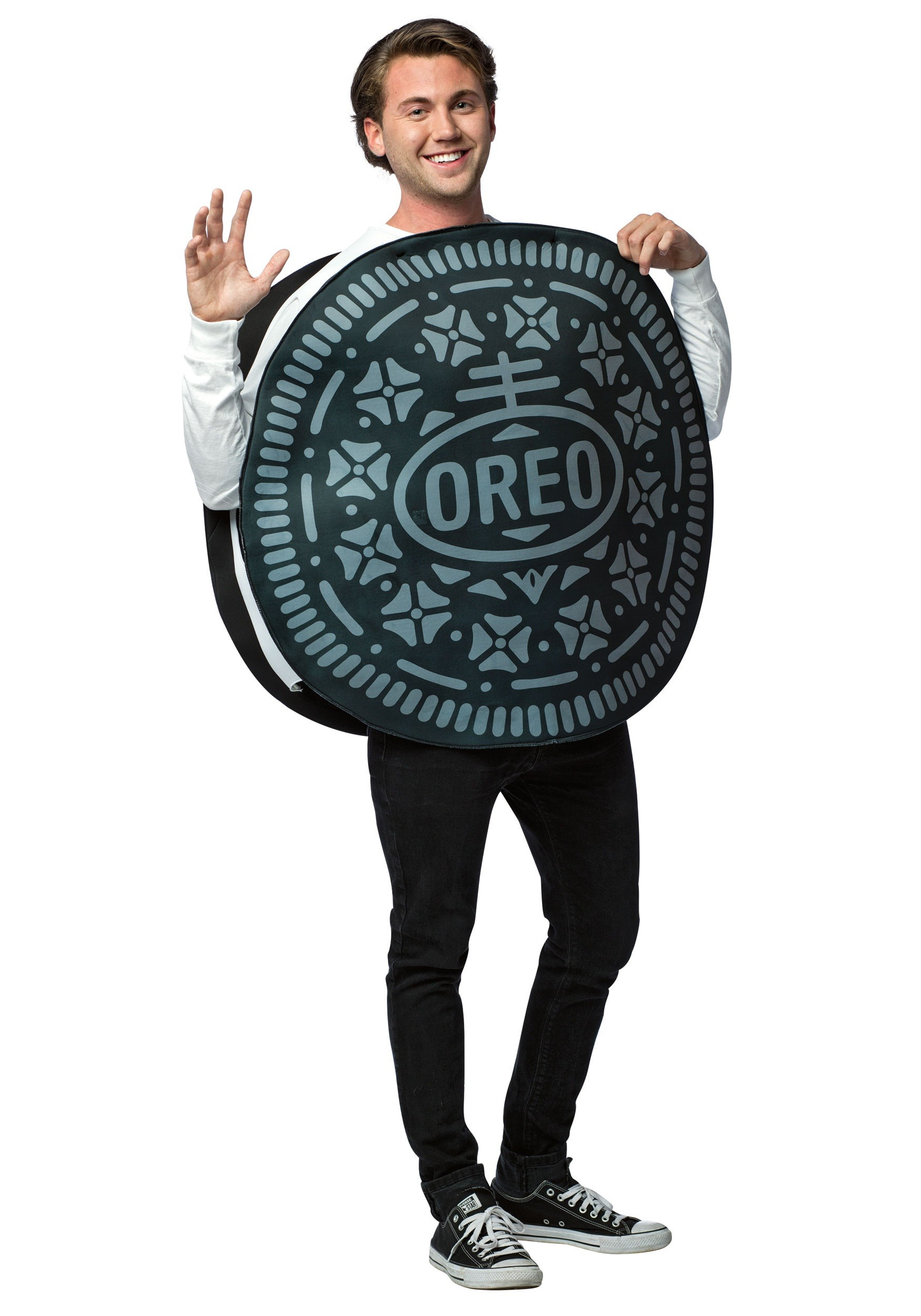 Cookies Halloween Costumes  Oreo Cookie Costume for Adults