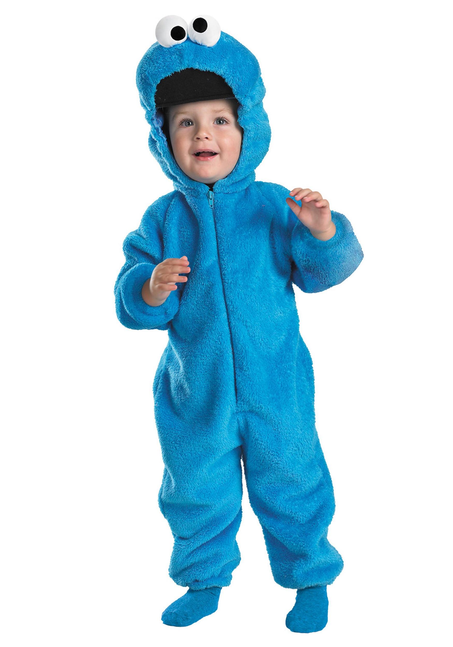 Cookies Halloween Costumes  Toddler Cookie Monster Costume