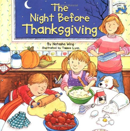 Cooking Turkey Night Before Thanksgiving  20 Thanksgiving Books for Kids The Naughty Mommy