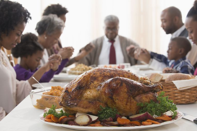 Cooking Turkey The Day Before Thanksgiving  3 Thanksgiving Blessings to Say at the Table