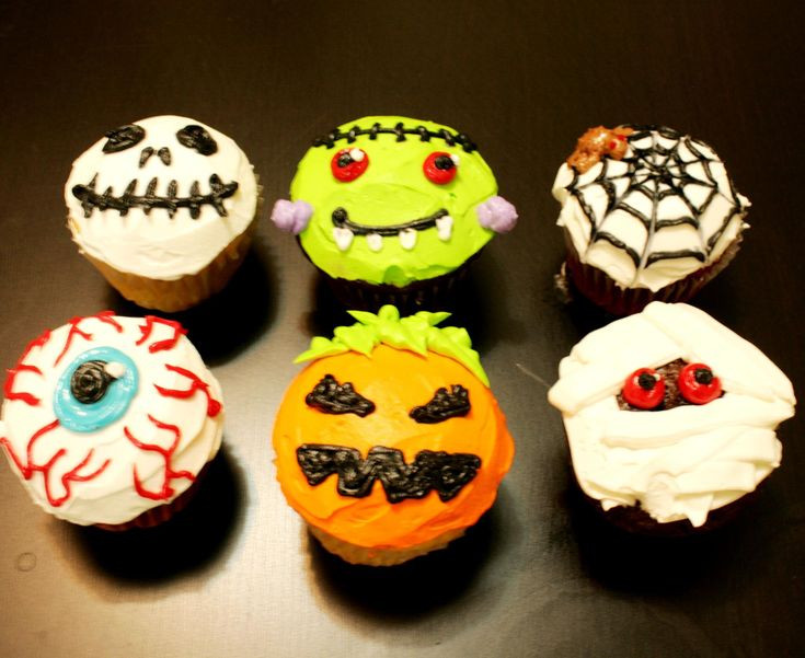 Cool Halloween Cup Cakes  98 best images about alyssa on Pinterest