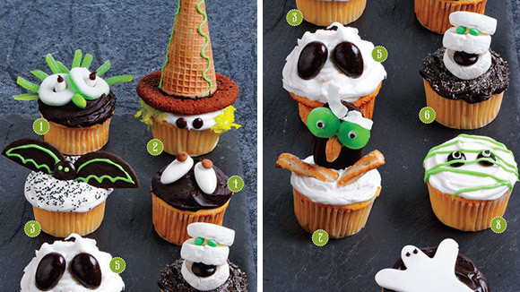 Cool Halloween Cup Cakes  Cool Ghoul Cupcakes Grandparents