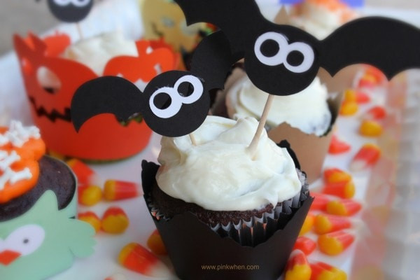 Cool Halloween Cup Cakes  Halloween Cupcake Ideas PinkWhen