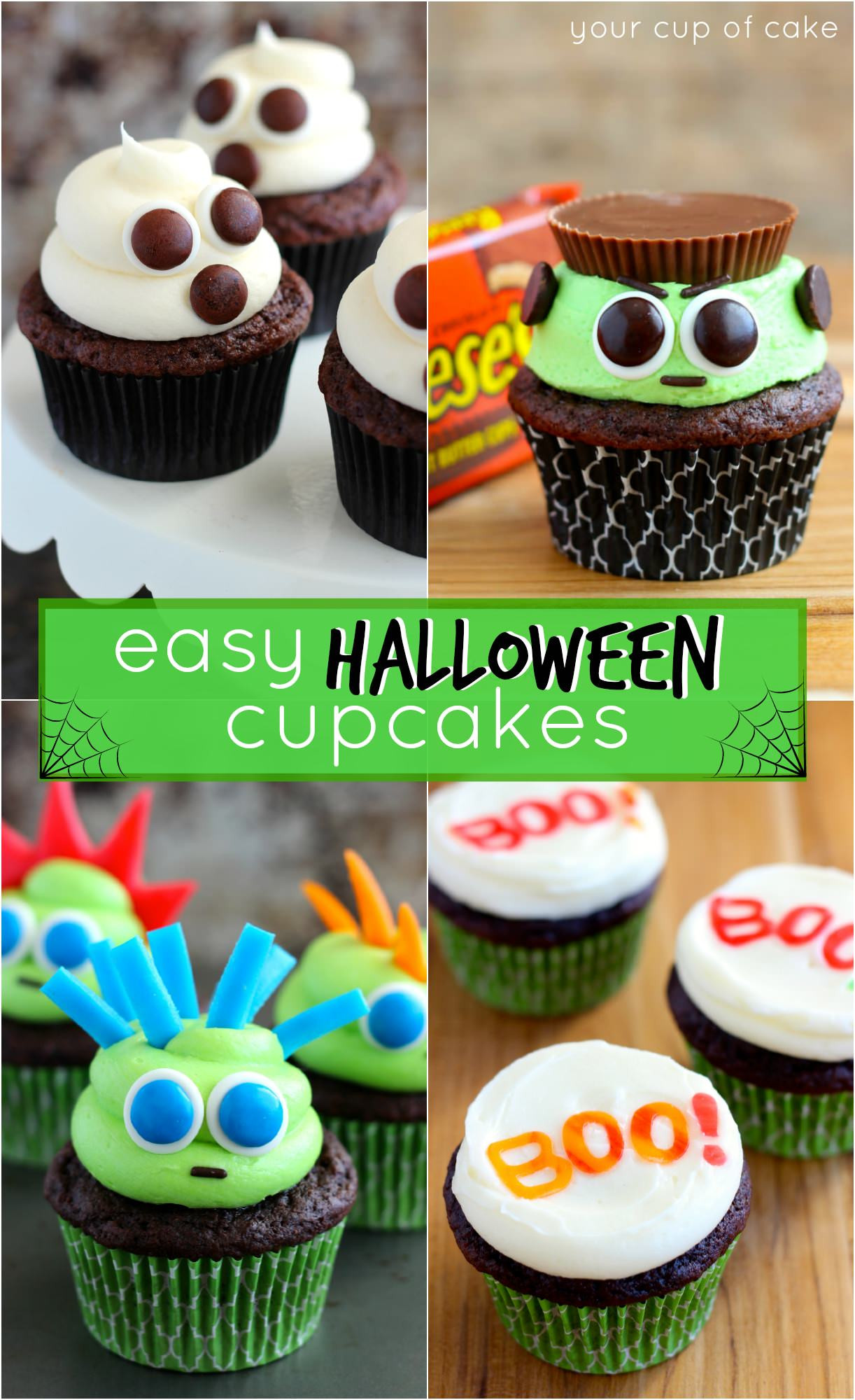 Cool Halloween Cup Cakes  Cool Halloween Cupcakes – Festival Collections