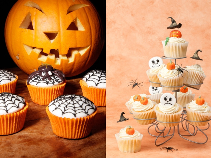Cool Halloween Cup Cakes  Wonderful DIY Cool Spiderman Candy Apples