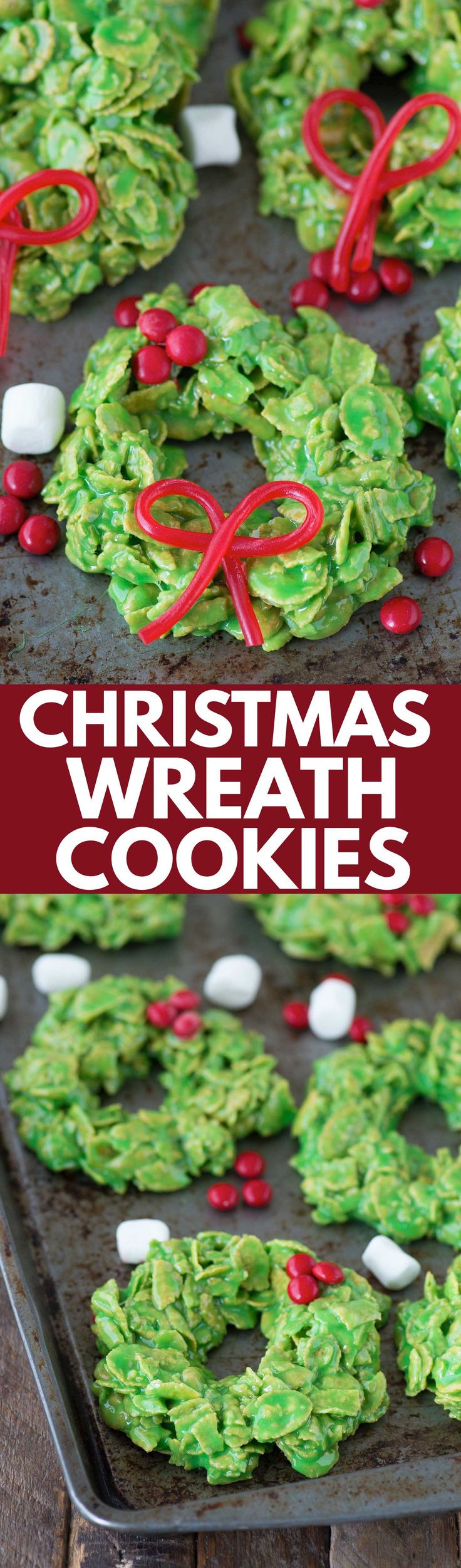 Cornflake Christmas Wreath Cookies With Corn Syrup  1000 ideas about Corn Flakes on Pinterest