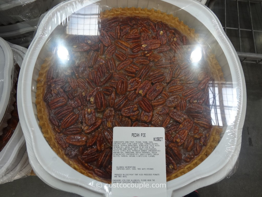 Costco Pies Thanksgiving  Kirkland Signature Pecan Pie