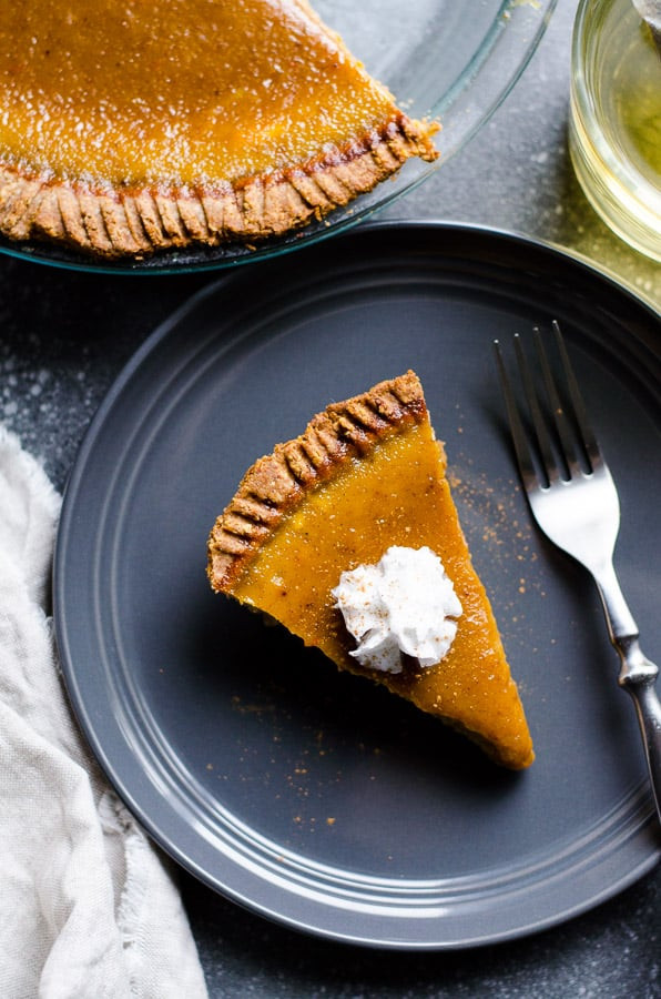Costco Pies Thanksgiving  Healthy Pumpkin Pie iFOODreal Healthy Family Recipes
