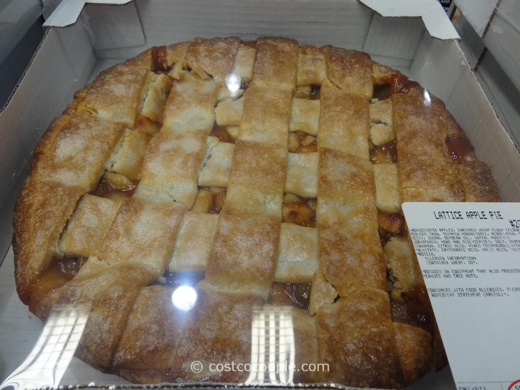 Costco Pies Thanksgiving  Kirkland Signature Lattice Apple Pie