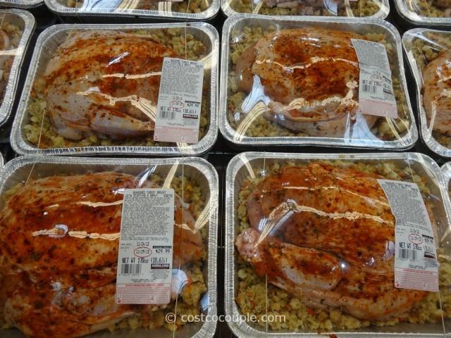 Costco Thanksgiving Dinner  Kirkland Signature Seasoned Turkey Breast With Stuffing