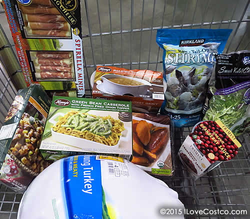 Costco Thanksgiving Dinner  Costco Shopping for Thanksgiving Dinner IloveCostco