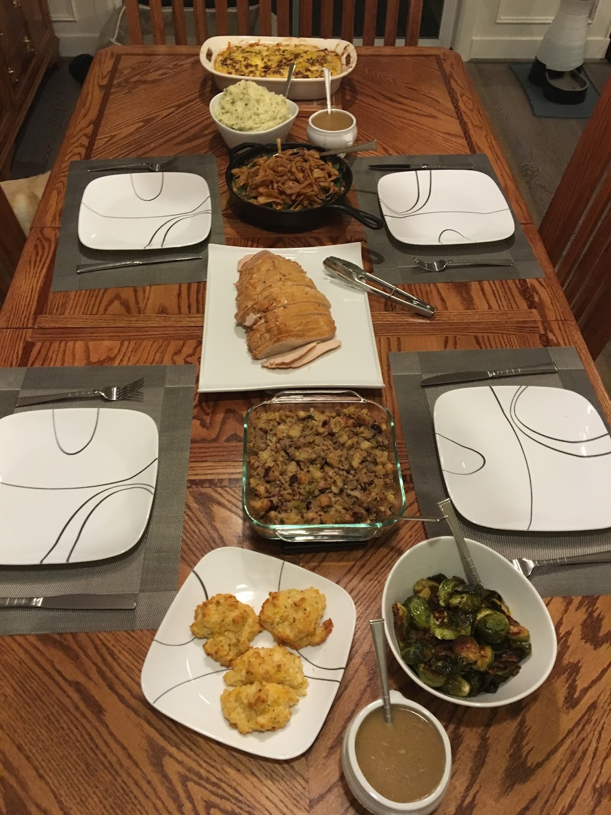 Costco Thanksgiving Dinner  93 Inch Bear Thanks to Costco for a traditional