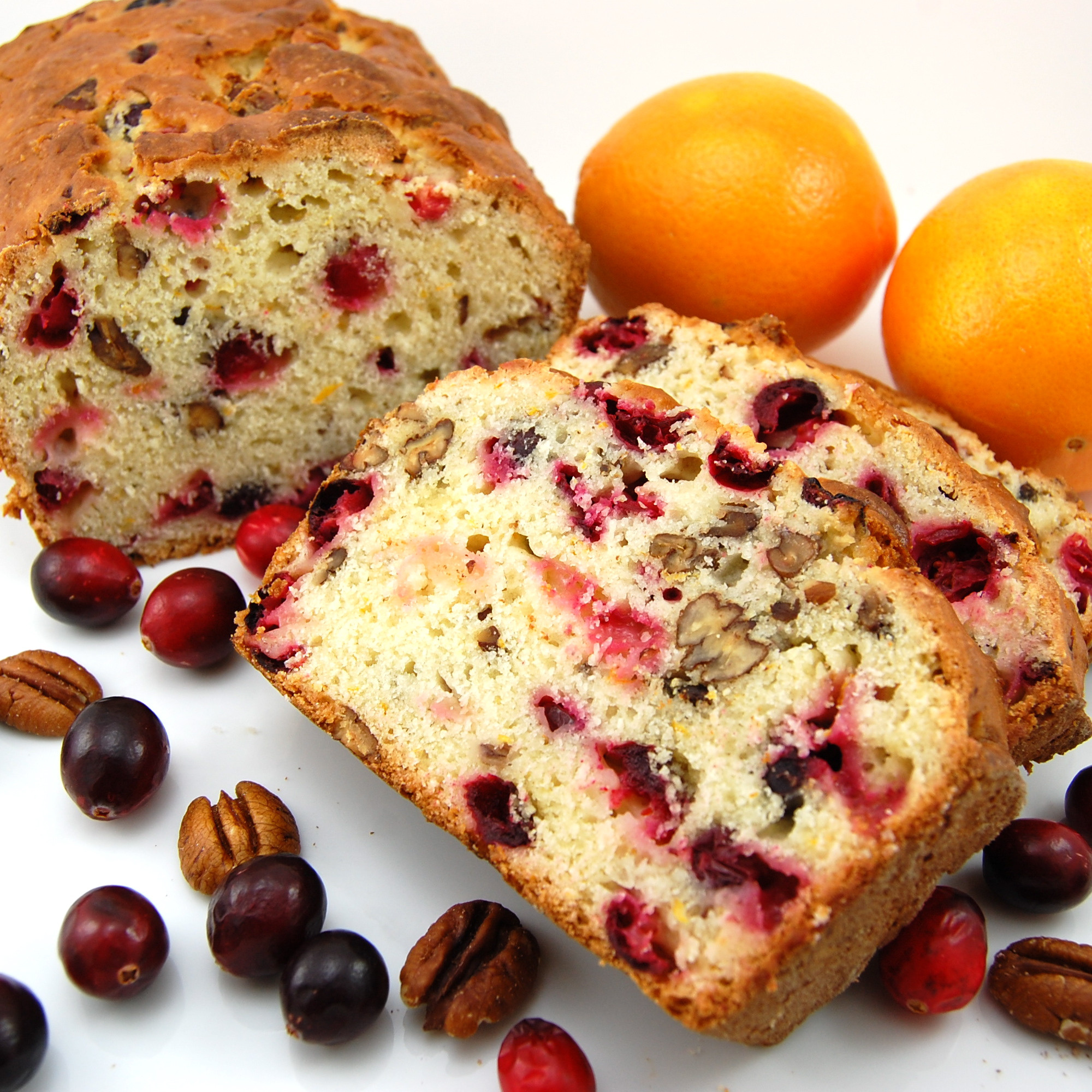 Cranberry Christmas Bread  Cranberry Orange Bread