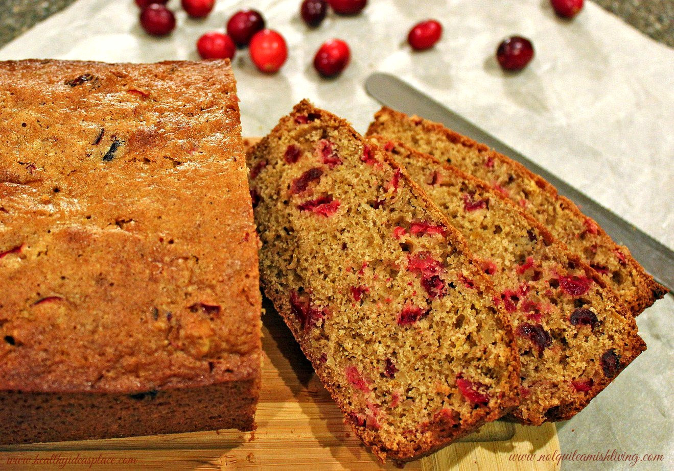 Cranberry Christmas Bread  Cranberry Bread
