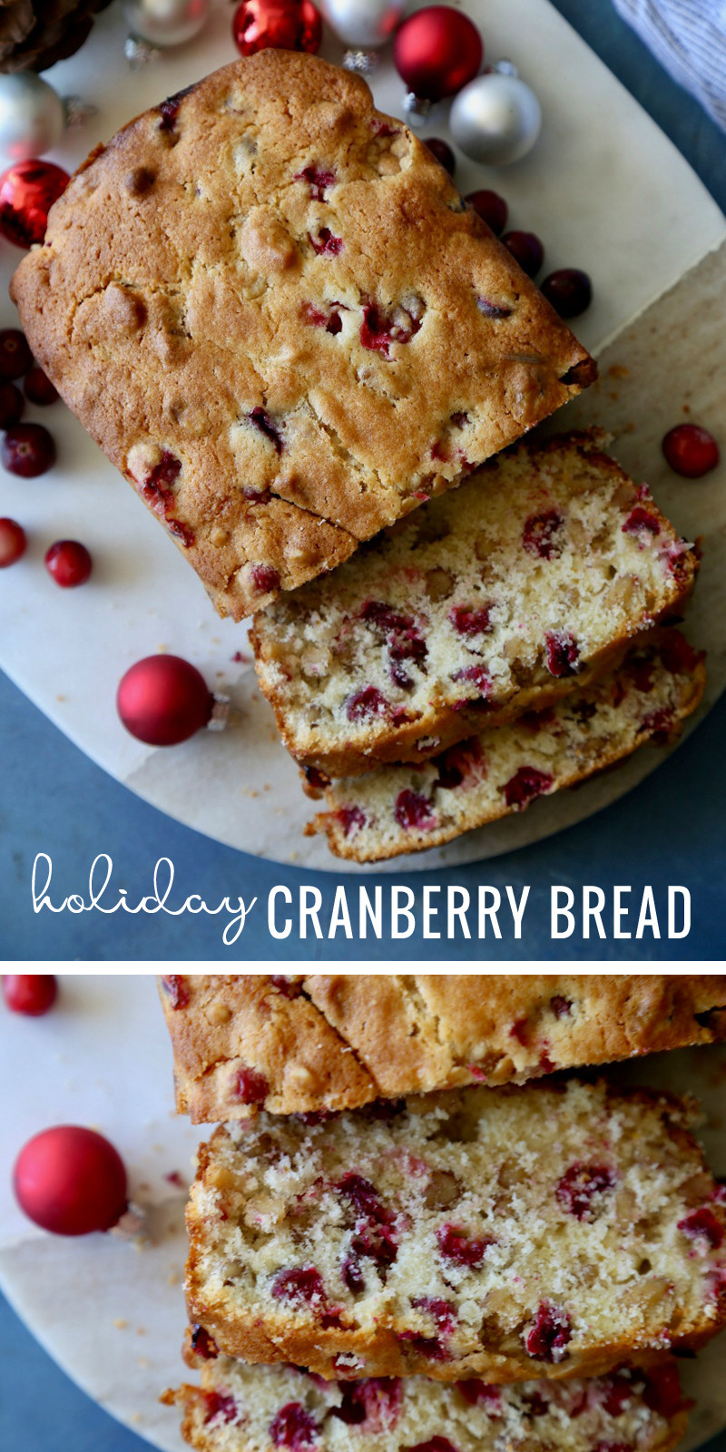 Cranberry Christmas Bread  Remodelaholic
