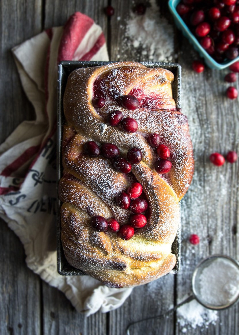 Cranberry Christmas Bread  Christmas Morning Cranberry Bread