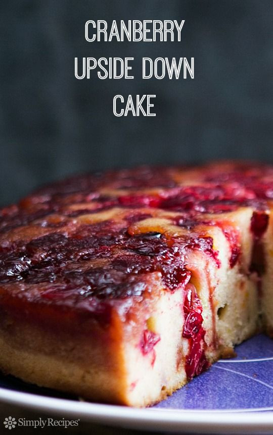 Cranberry Desserts For Thanksgiving  Thanksgiving Cakes and Cakes to make on Pinterest