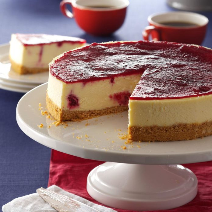 Cranberry Desserts For Thanksgiving  Cranberry Cheesecake Recipe