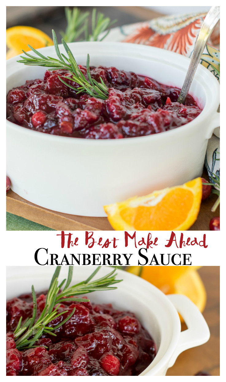 Cranberry Recipes For Thanksgiving  The Best Cranberry Sauce Ever Quick Easy and Make Ahead