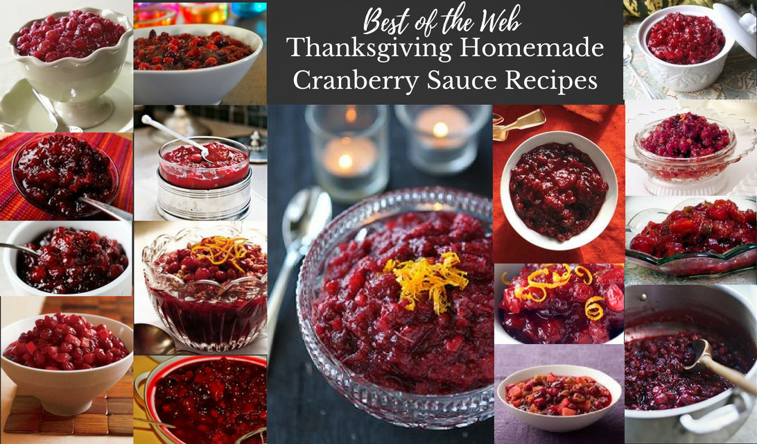Cranberry Relish Recipes Thanksgiving  Best of the Web Thanksgiving Homemade Cranberry Sauce Recipes