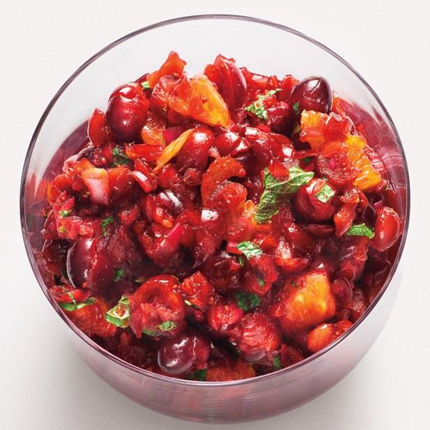 Cranberry Relish Recipes Thanksgiving  Cranberry Orange Relish with Mint recipe