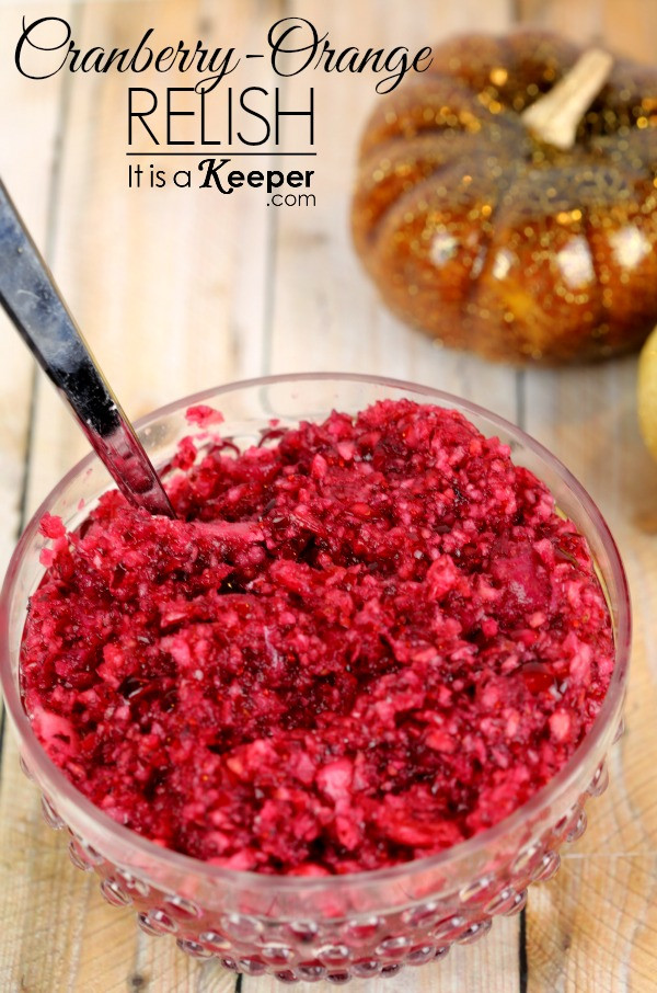 Cranberry Relish Recipes Thanksgiving  Fresh Cranberry Orange Relish It Is a Keeper