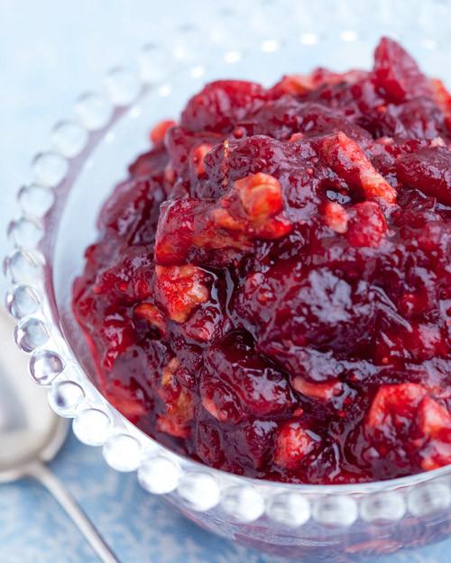 Cranberry Relish Recipes Thanksgiving  Orange Cranberry Sauce Recipe
