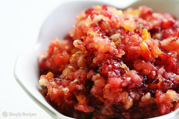 Cranberry Relish Recipes Thanksgiving  Cranberry Relish Recipe