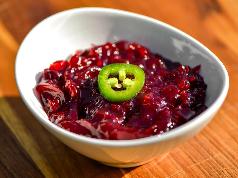 Cranberry Relish Recipes Thanksgiving  Smoky Jalapeño and Lime Cranberry Sauce Recipe