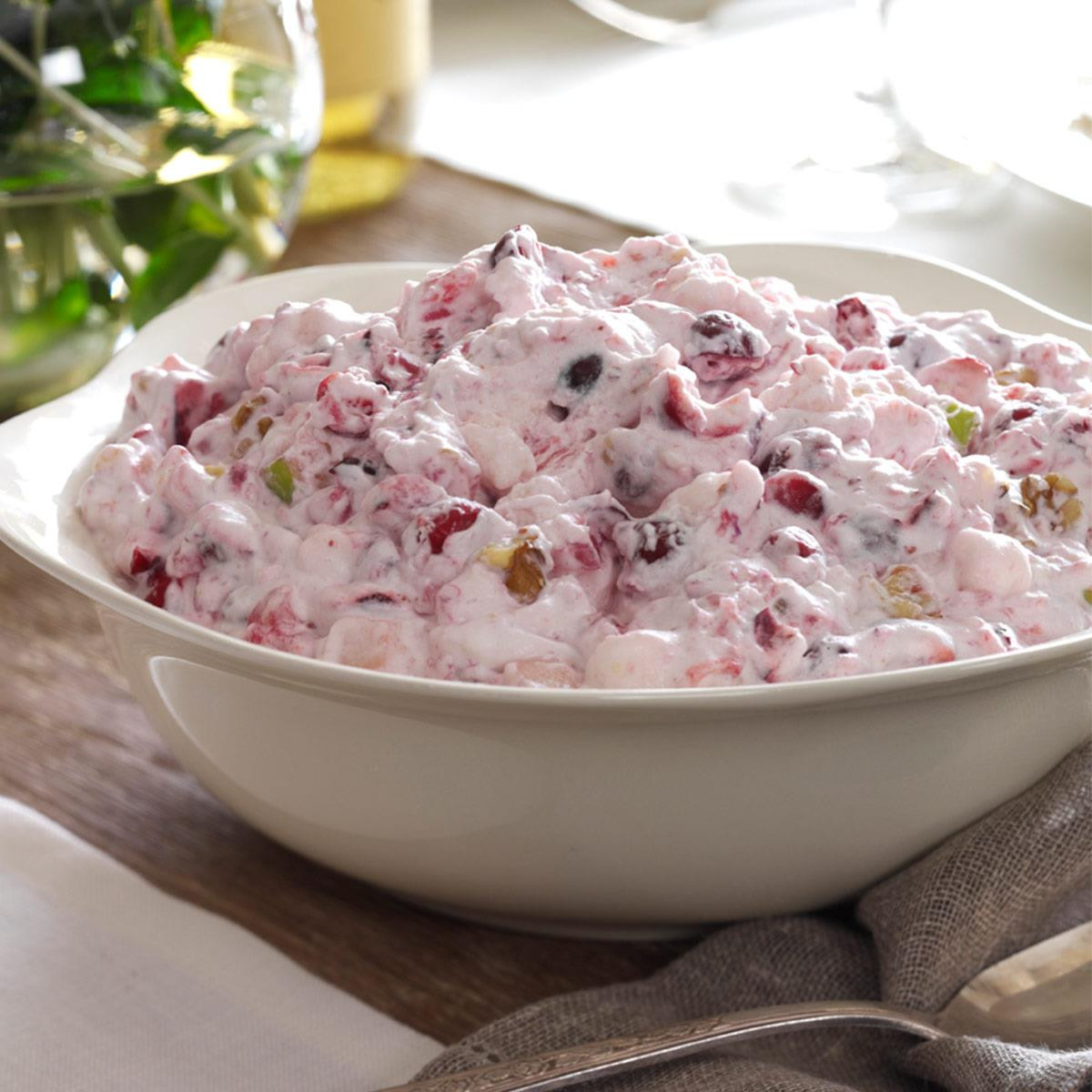 Cranberry Salad Recipes For Thanksgiving  Creamy Cranberry Salad Recipe