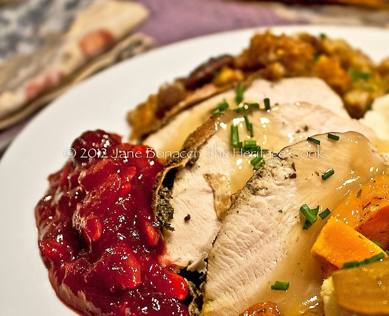 Cranberry Sauce Thanksgiving Side Dishes  How to Cook the Perfect Turkey and My Favorite Side Dishes