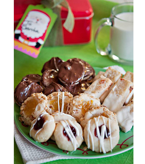 Cream Cheese Christmas Cookies  Holiday Cream Cheese Cookies 4 Ways Taste and Tell