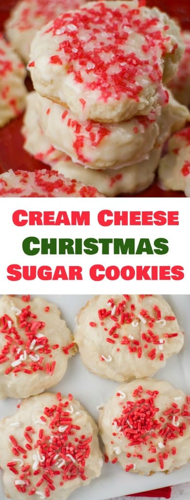 Cream Cheese Christmas Cookies  Cream Cheese Christmas Sugar Cookies Brooklyn Farm Girl
