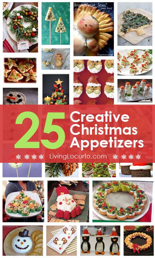 Creative Christmas Appetizers  25 Christmas Appetizer Party Recipes Holiday Food