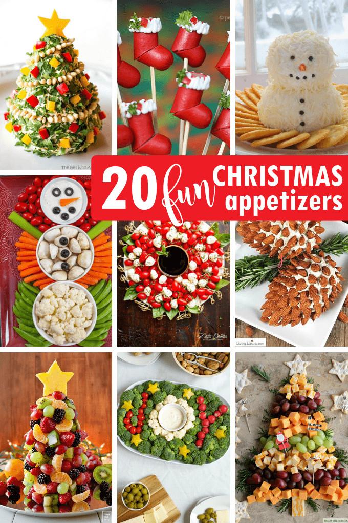 Creative Christmas Appetizers  CHRISTMAS APPETIZERS 20 creative and fun holiday appetizers