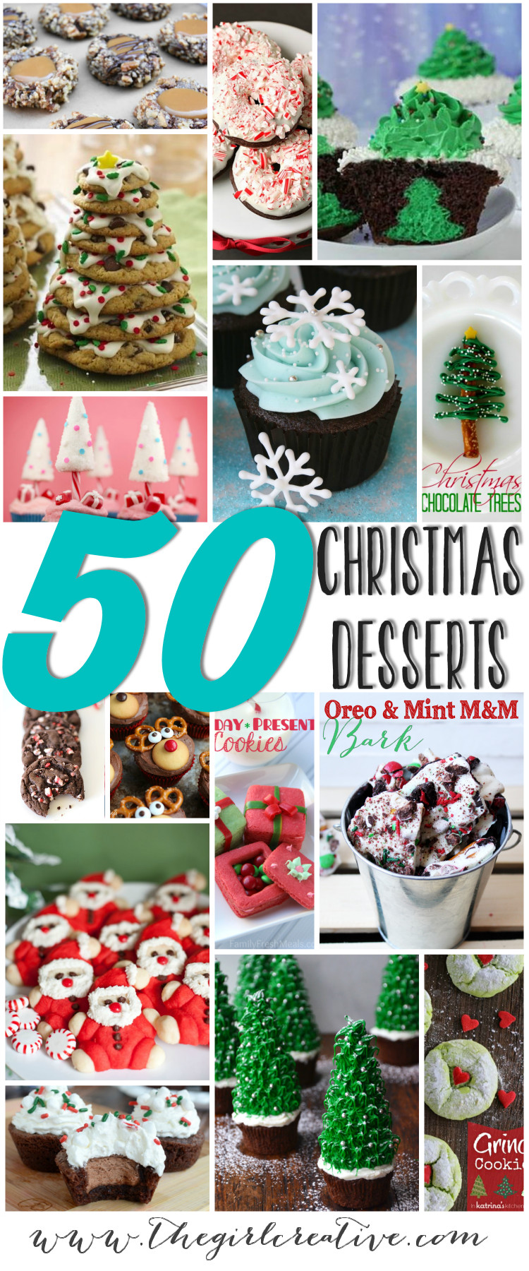 Creative Christmas Desserts  50 Christmas Desserts Page 4 of 4 The Girl Creative