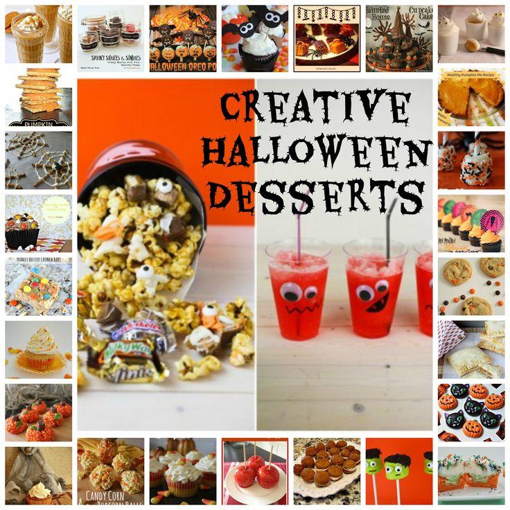 Creative Halloween Desserts  Creative Halloween Desserts Fall Pinterest