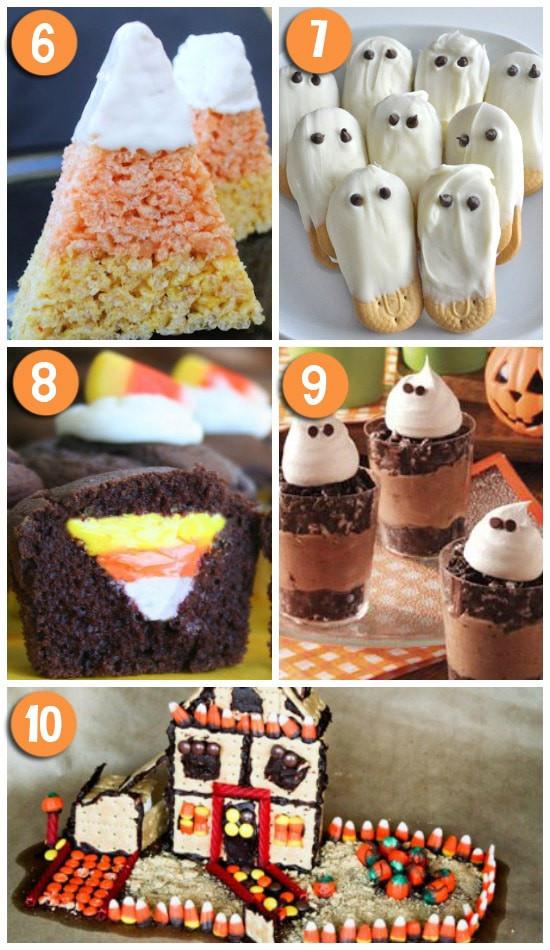 Creative Halloween Desserts  50 FUN Halloween Foods