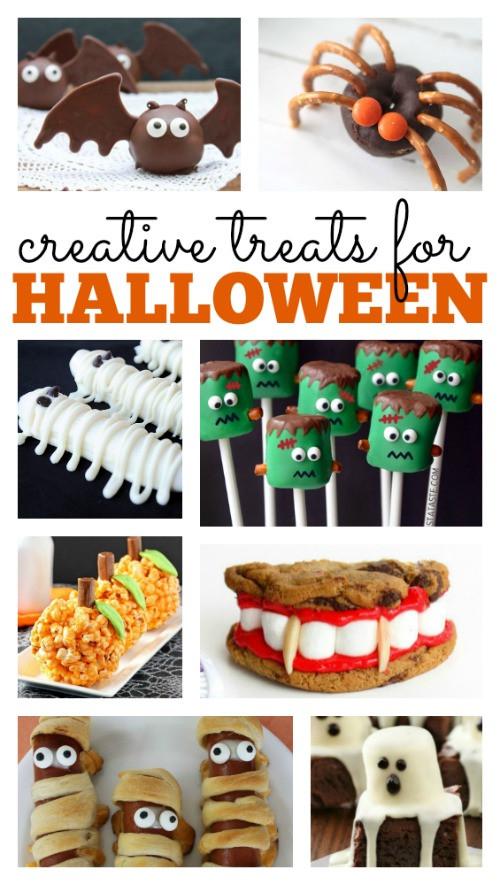 Creative Halloween Desserts  Creative Halloween Treats perfect for celebrating the year